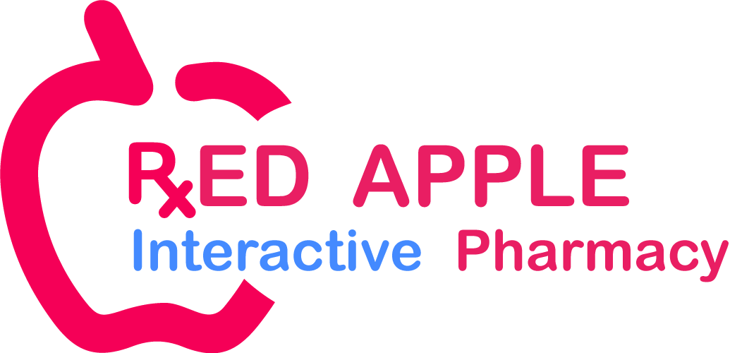 Red apple pharmacy logo