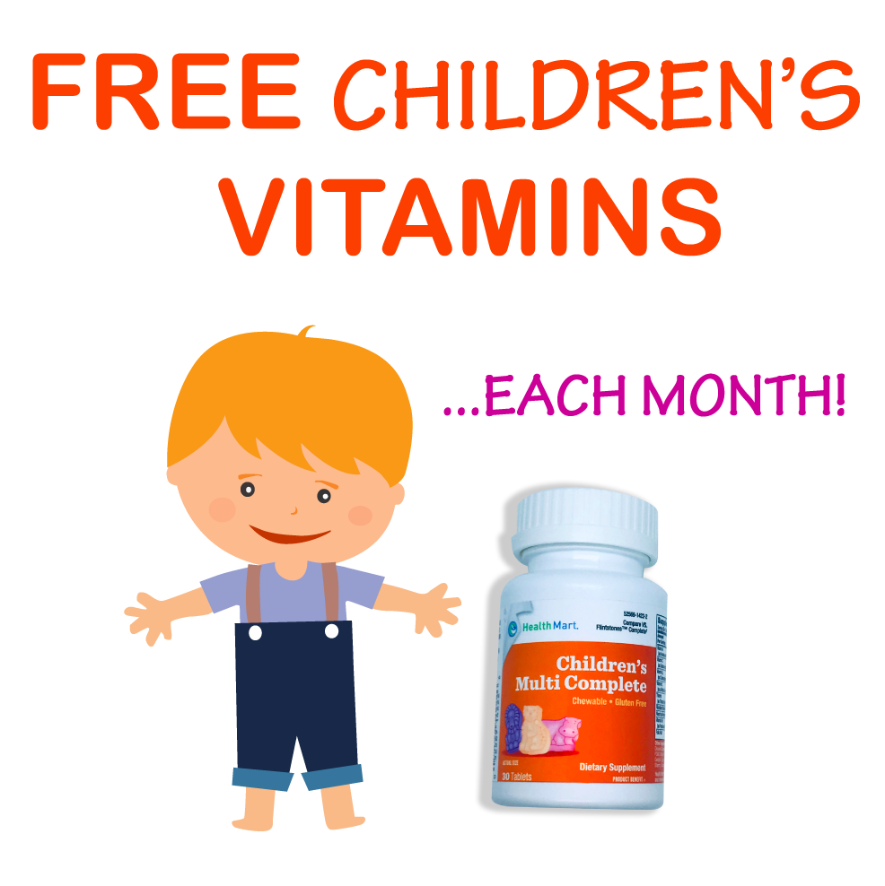 Free children vitamin image